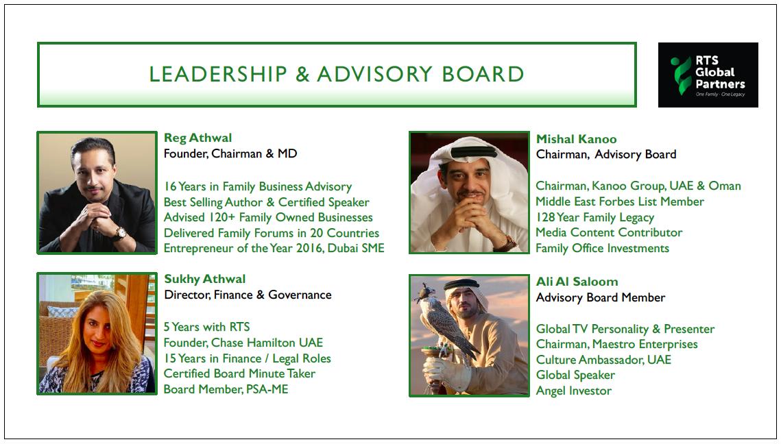 RTS Executive Team