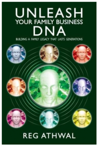 Unleash Your Family Business DNA - New Book Cover