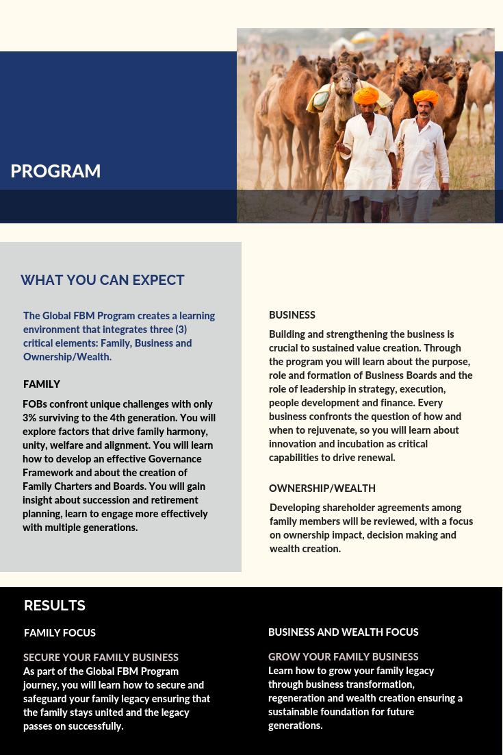 5-Global FBM Program