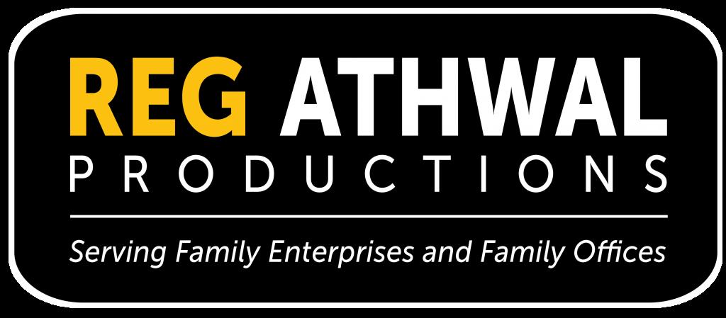 Reg Athwal Productions - Logo