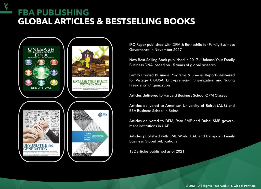 12 - RTS Publishing (Articles & Books)