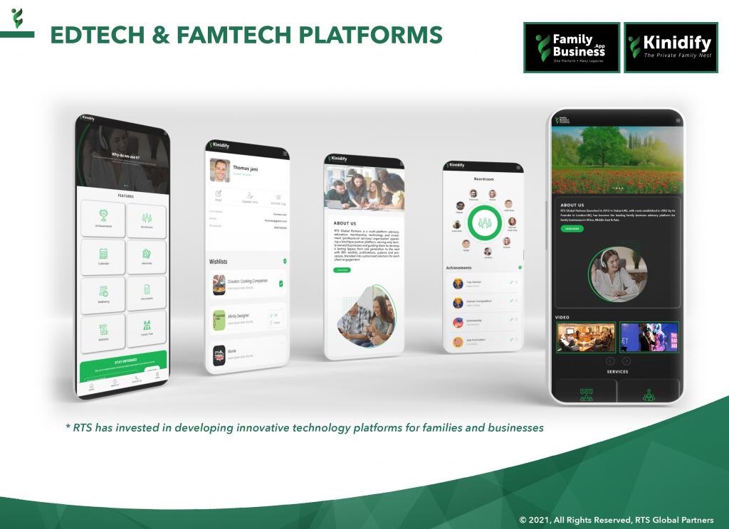 15 - RTS EdTech & FamTech Platforms (FamilyBusinessApp & Kinidify)