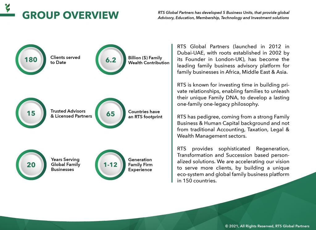 2 - RTS Group Overview