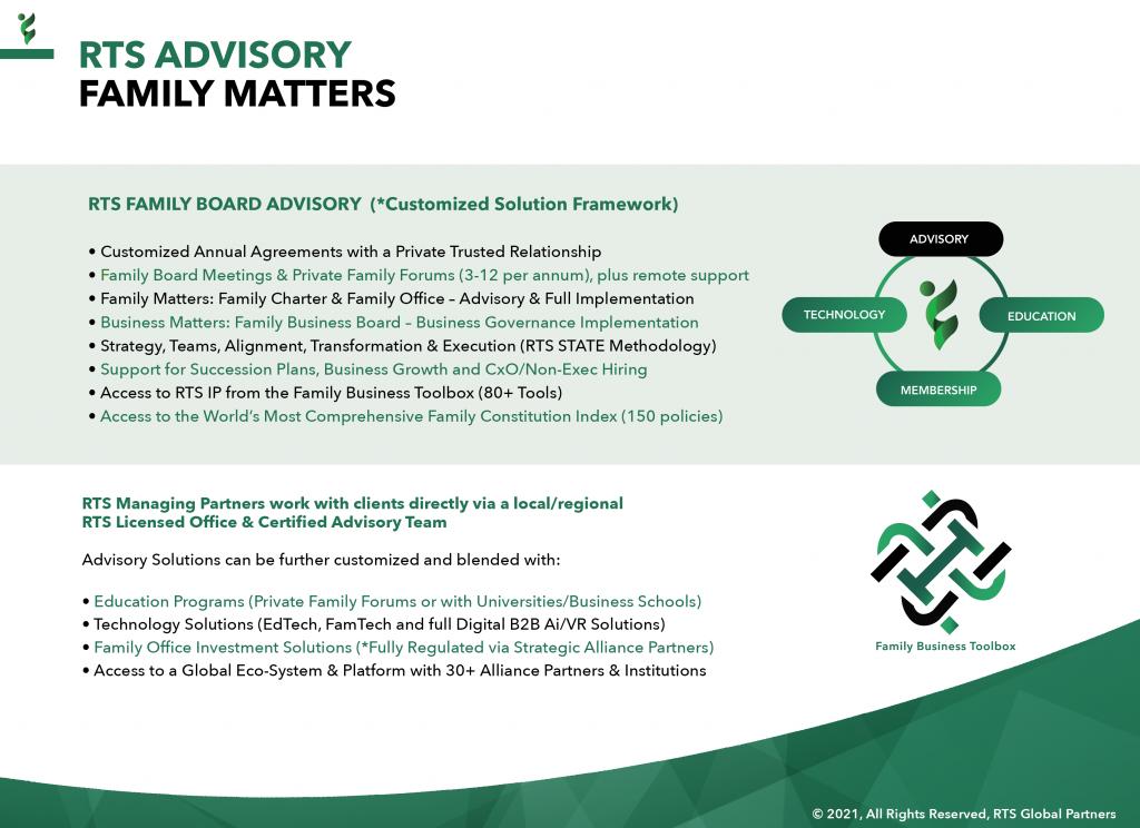 9 - RTS Advisory (Family Matters)