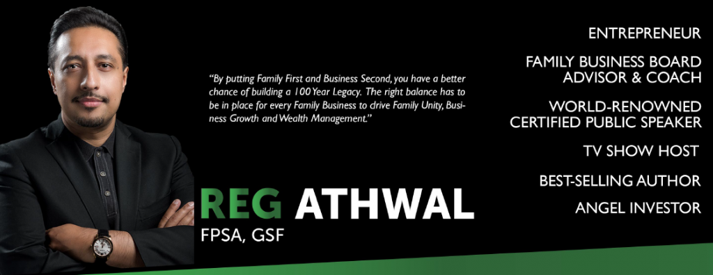 Reg Athwal Website Banner