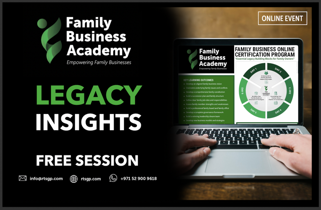 FBA Legacy Insights Series - Free Session 2021